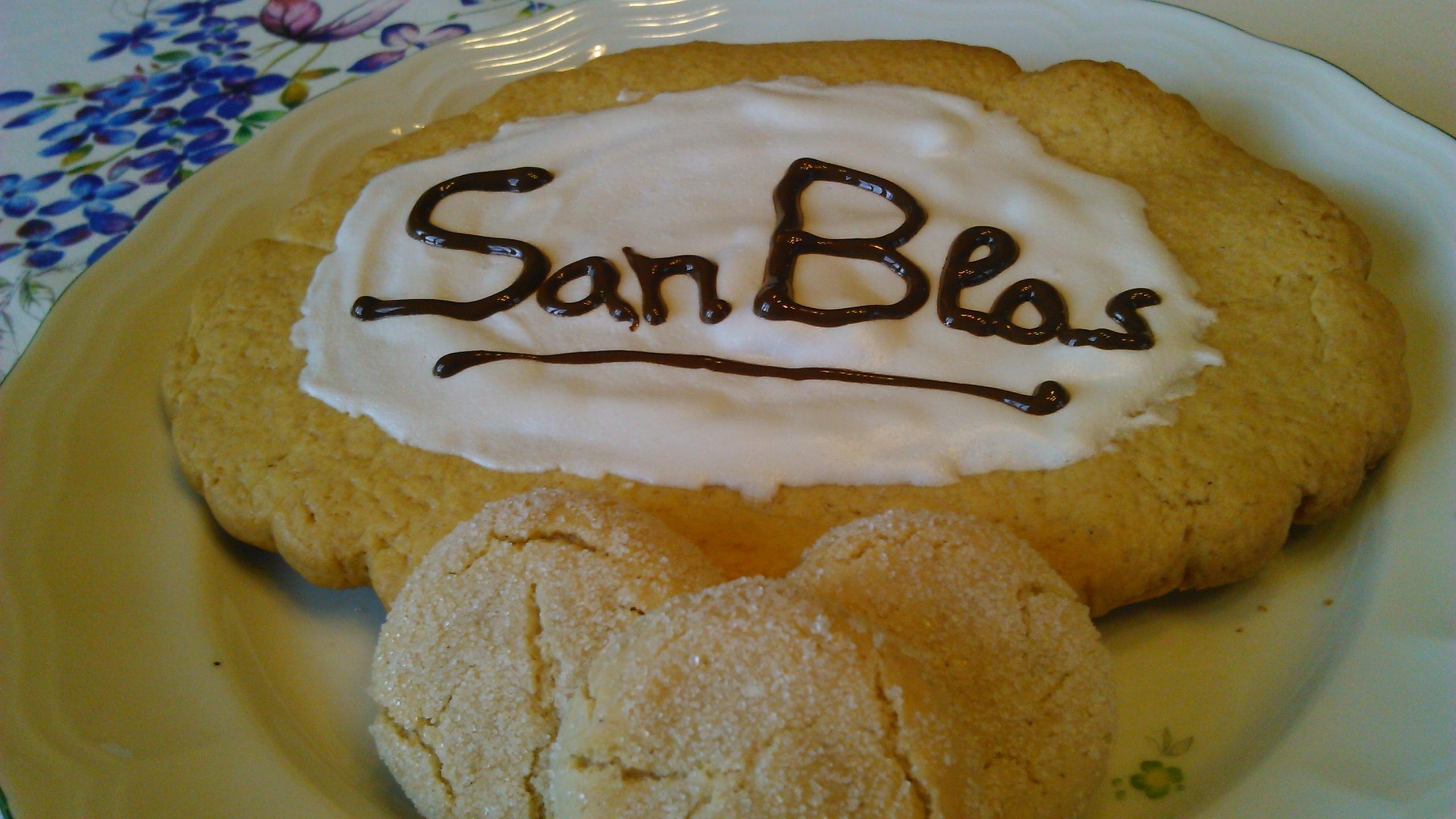 Torta de San Blas y Macarrones de Bilbao