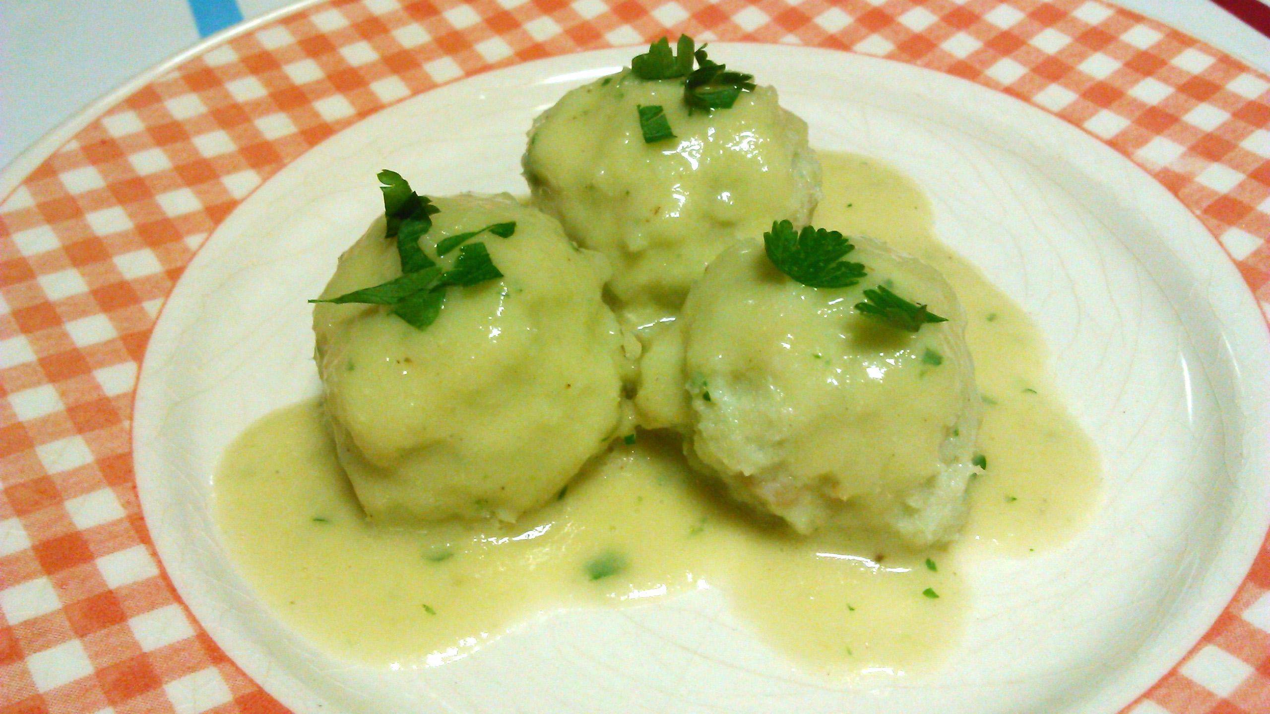 Albondigas de bacalao en salsa verde con Thermomix®