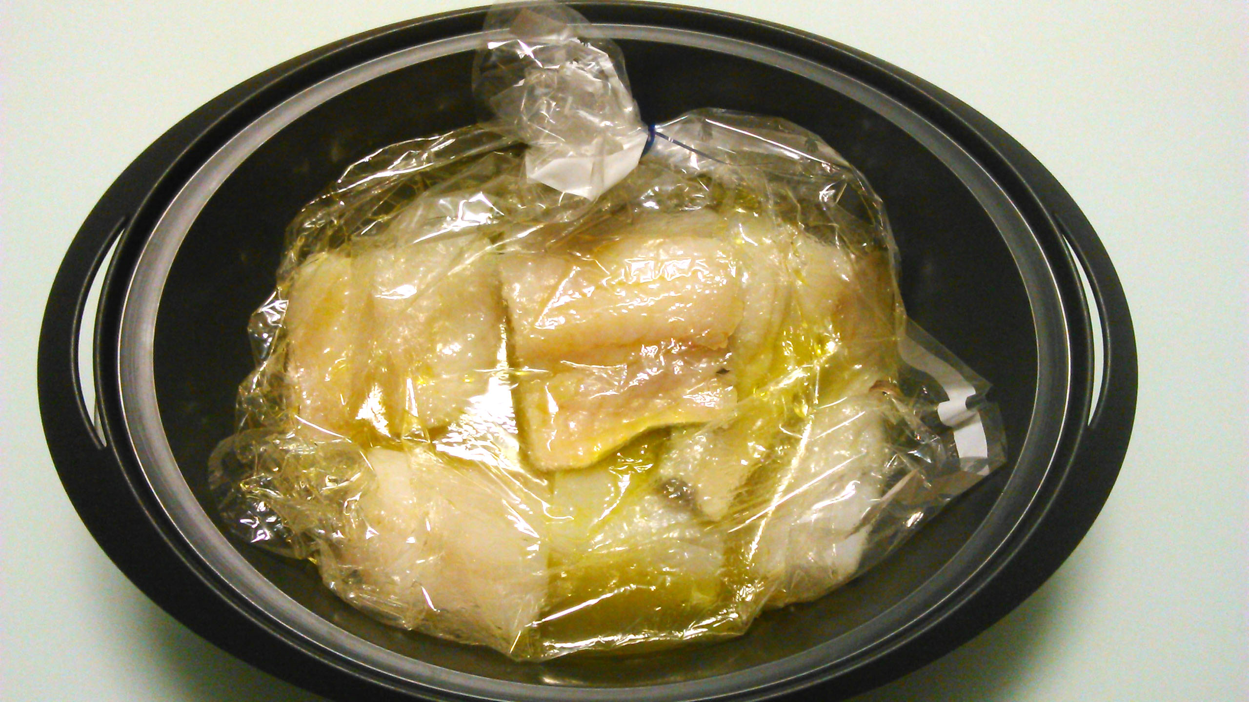 Bacalao al pil pil con Thermomix®