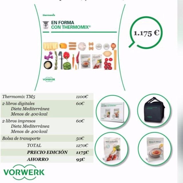 !!Thermomix® nos cuida nuestra cocina y el bolsillo¡¡