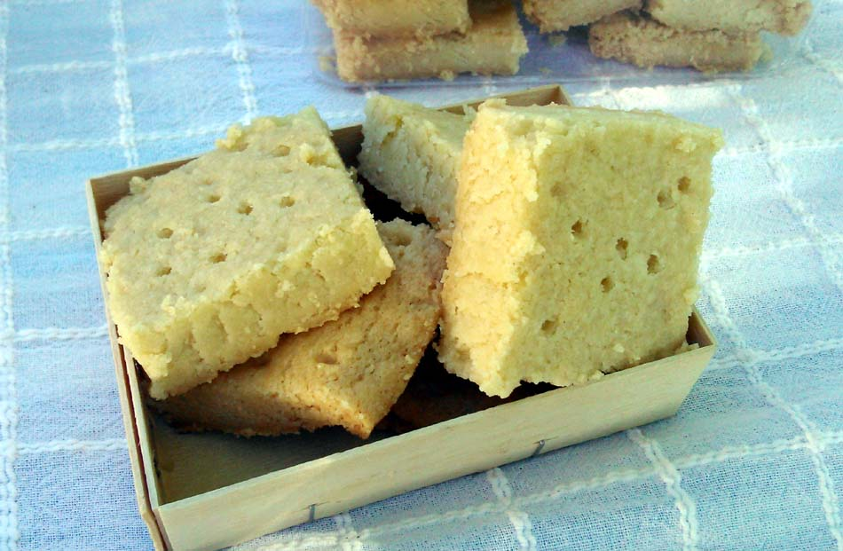 Shortbread-Galletas de mantequilla escocesas