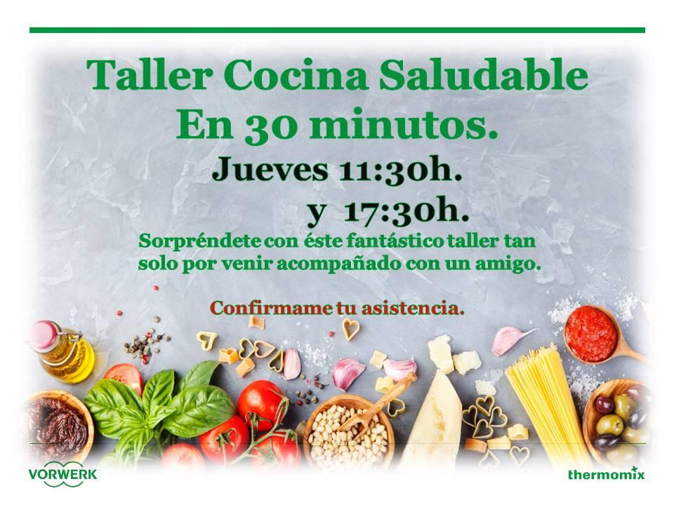 Taller cocina saludable noticias blog blog de m for Cocina saludable en 30 minutos thermomix