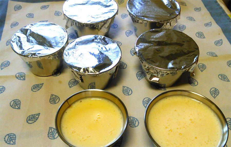 Lentejas (a mi estilo) + flan de huevo en Varoma