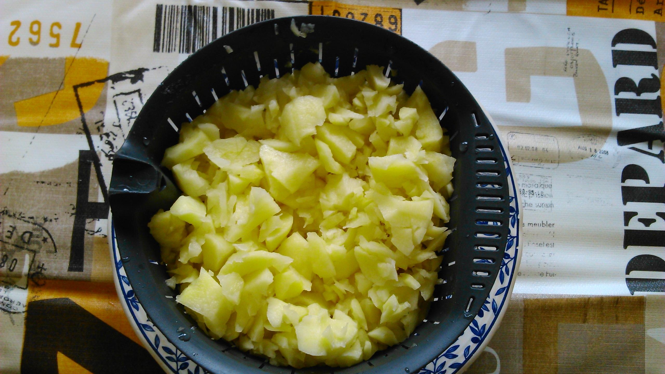 Tortilla de patata (con chorizo)
