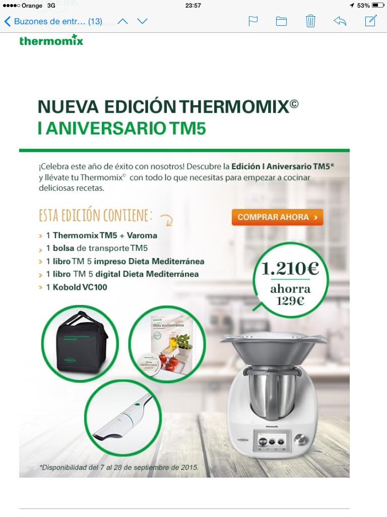 EDICION PRIMER ANIVERSARIO DE LA TM 5