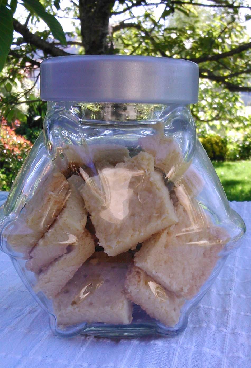 Shortbread-Galletas de mantequilla escocesas