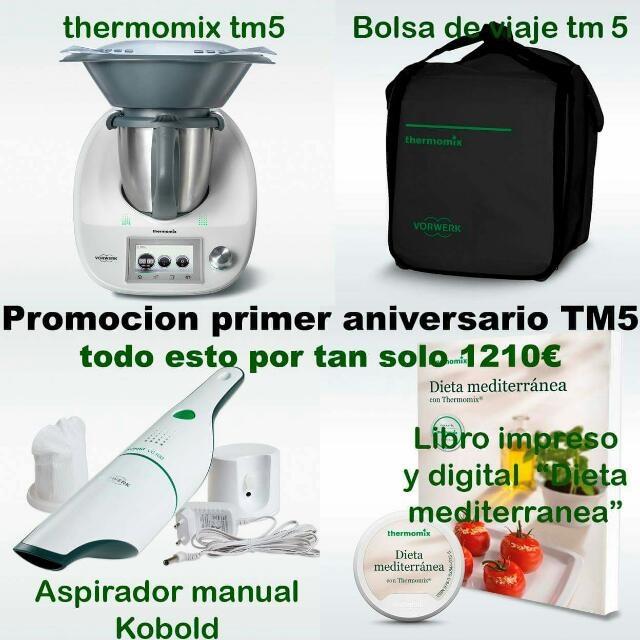 PROMOCION Thermomix® tm5 su primer cumpleaños!!