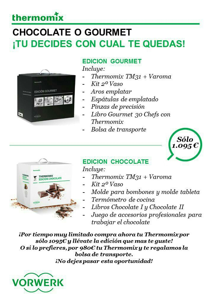SUPER PROMOCION PACK CHOCOLATE Y GOURMET