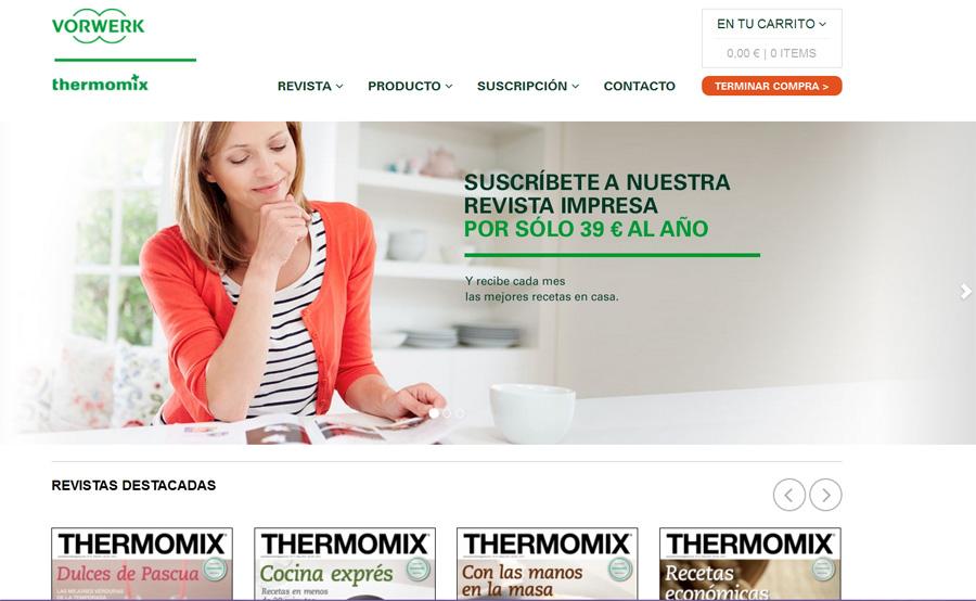 Paginas Web Oficiales de Thermomix®