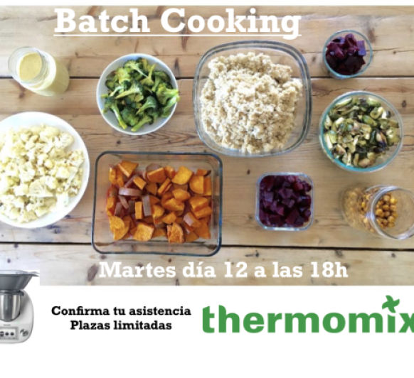 Batch Cooking con Thermomix®