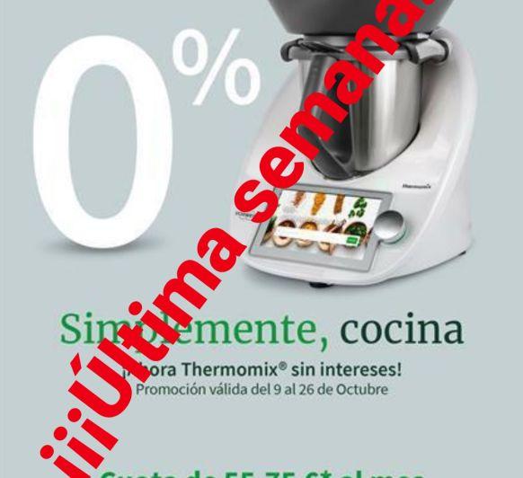 COMPRAR Thermomix® FINANCIACIÓN SIN INTERESES