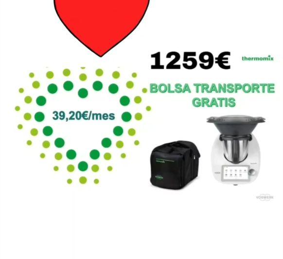 BOLSA DE TRANSPORTE. REGALO Thermomix® BILBAO