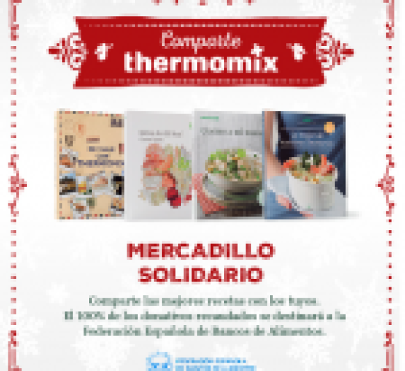 MERCADILLO SOLIDARIO EN Thermomix®