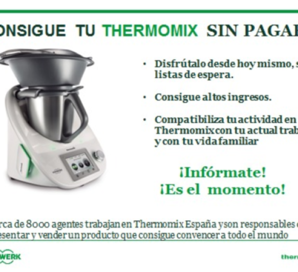 Consigue gratis tu Thermomix®