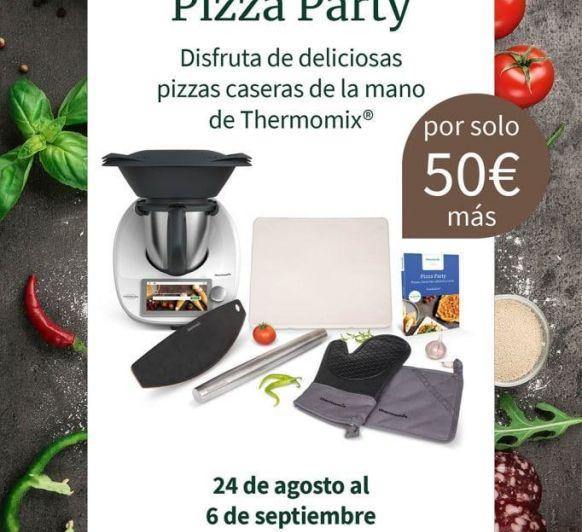 PIZZAS, MASAS, PIZZA PARTY, EDICION ESPECIAL Thermomix®