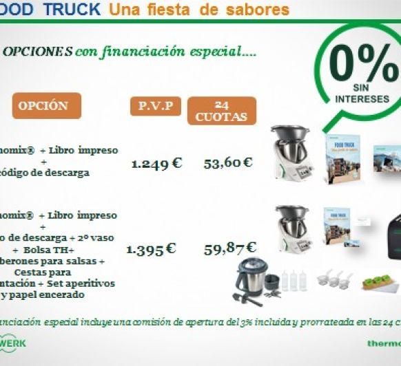 Edición Food Truck con financiación especial