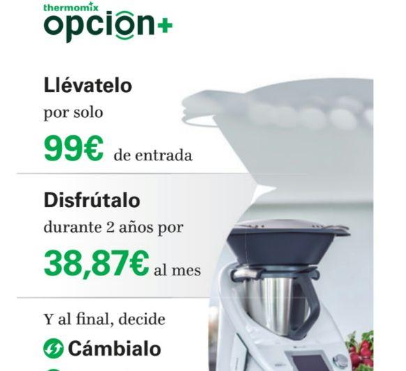 DISFRUTA DE UNA Thermomix® OPCION+