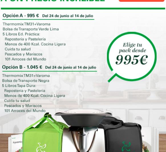 Thermomix® promoción especial verano