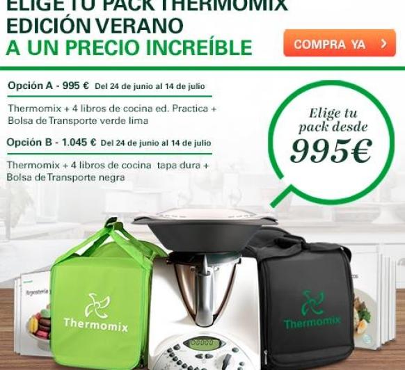 NUEVA PROMOCION DE Thermomix® PARA EL VERANO