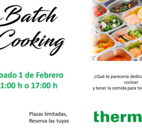 TALLER BATCH COOKING
