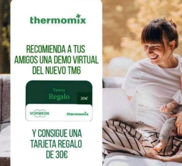 Consigue 30€ de regalo para la tienda Online de Thermomix®