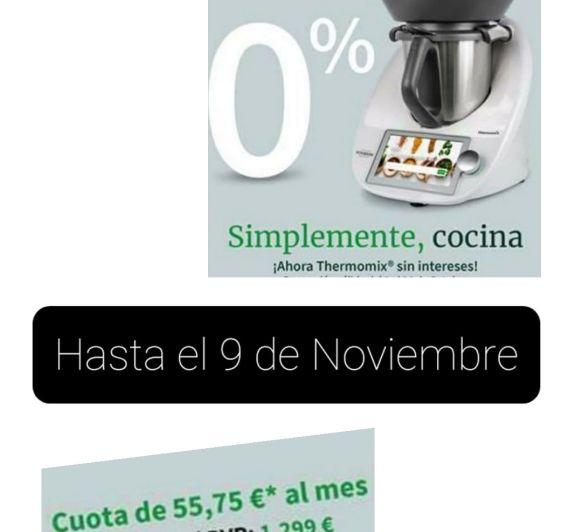 COMPRAR Thermomix® , SE ACABA EL 0%!!!!!