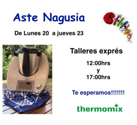 Talleres Exprés en Thermomix® - Aste Nagusia