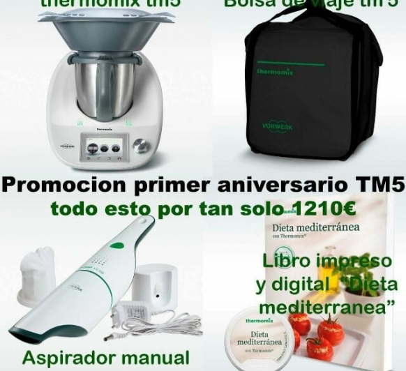 PROMOCION thermomix tm5 su primer cumpleaños!!