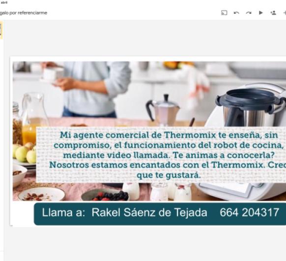 INVITACION PARA CONOCER EL Thermomix®