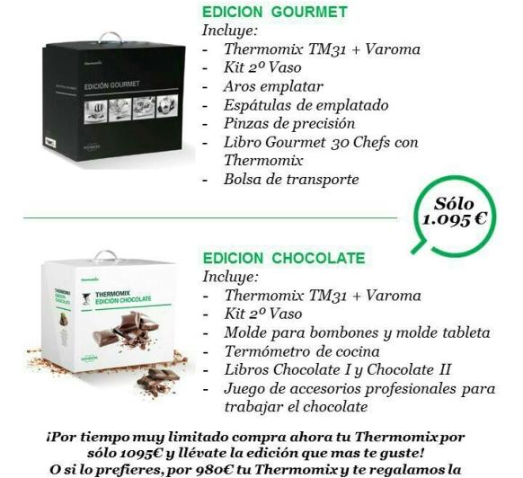 SUPER PROMOCION PACK CHOCOLATE Y GOURMET