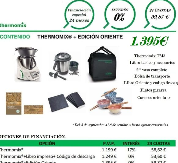 COMPRAR Thermomix® FINANCIACION SIN INTERESES// RECETA DE MACARRONES CON ATUN EXPRESS